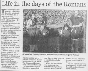 Life in the Days of The Romans